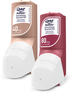 QVAR RediHaler 80 mcg and 40 mcg inhalers